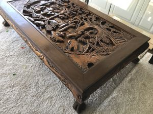 Vintage chinese coffee table for Sale in Westminster, CA