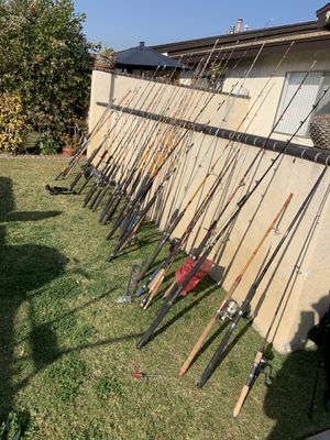 Vintage fishing rods for Sale in Anaheim, CA