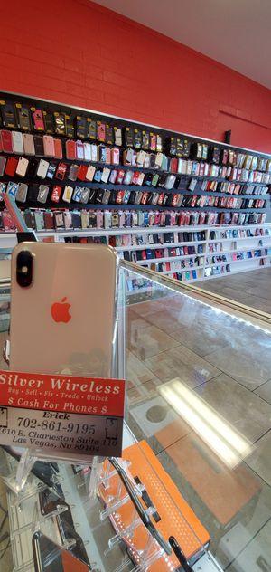 IPHONE X FACTORY UNLOCKED $599 for Sale in Las Vegas, NV