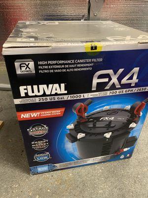 New Fluval FX4 Aquarium Filter for Sale in Crestline, CA