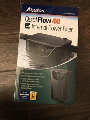 Aquarium filter 40 gal. for Sale in El Cajon, CA