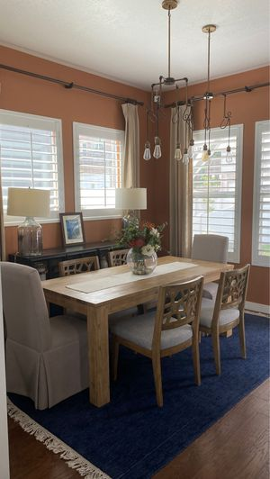 6 piece Dining table and chairs set for Sale in Draper, UT