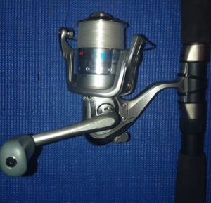 Fishing poles and reel for Sale in Blackstone, MA