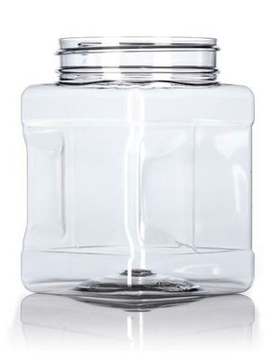 Plastic clear jars sale is for four of them storage jar containers container kitchen food grade holder candies Foods for Sale in Greenwich, CT