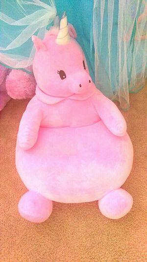 Unicorn plush chair kids for Sale in Las Vegas, NV