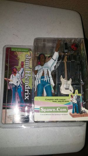 McFarlane Toys Spawn Jimi Hendrix Figure for Sale in Houston, TX