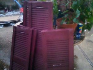 PLASTIC SHUTTERS FOR SALE for Sale in French Camp, CA