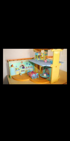 Two Dora house set and Dolls for $40 for Sale in Gresham, OR