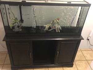 55 gallon fish tank for Sale in Highland, UT