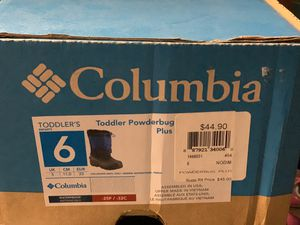 Columbia kids snow boots for Sale in Chicago, IL