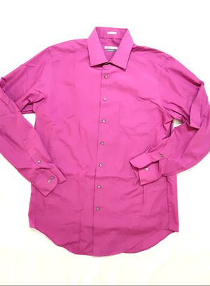 VAN HEUSEN Mens Button Up Long Sleeve Shirt Size 16 1/2 for Sale in Palmdale, CA