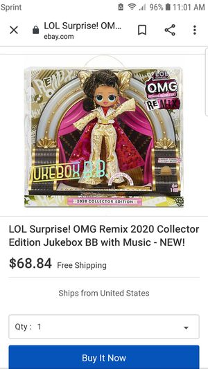 LOL Surprise OMG Remix 2020 Collector's Edition for Sale in Phillips Ranch, CA