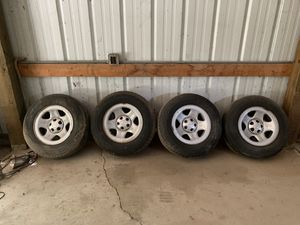 Jeep Wrangler wheels for Sale in Bartlett, IL