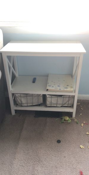 side table with two drawers for Sale in Collingswood, NJ