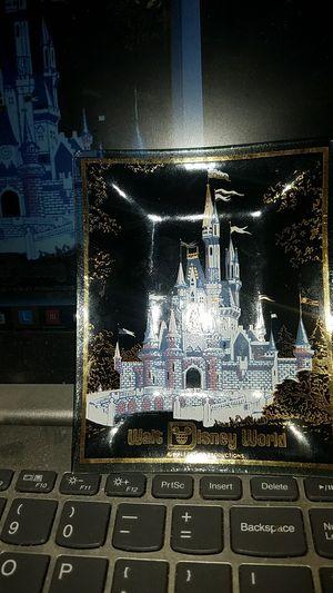 "Cinderella's Castle Walt Disney World Vintage Glass Trinket Coin Dish Ashtray 4"" x 5"" for Sale in Cincinnati, OH"