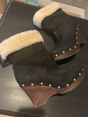 Ugg wedge boots for Sale in Severn, MD