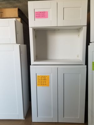 KITCHEN, RESTROOM, LAUNDRY ROOM AND GARAGE CABINETS for Sale in Commerce, CA
