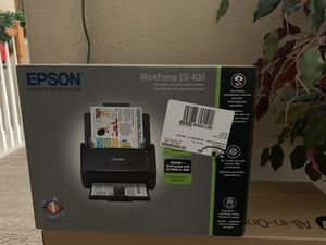 New Epson ES400 scanner for Sale in San Antonio, TX