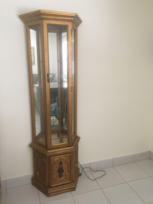 Neoclassic lighted curio for Sale in Delray Beach, FL