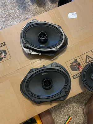 DS18 PRO-ZT69 Speaker - 6x9, 2-Way Pro Audio Midrange with Built-in Bullet Tweeter, 550W Max, 275W RMS, 4 Ohm, for Sale in Tallahassee, FL