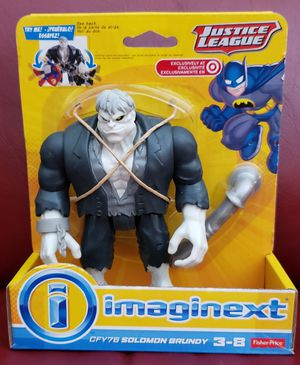 DC Comics Collectibles Imaginext Justice League SOLOMON GRUNDY Figure Toy Target Only Exclusive Fisher-Price Batman @2014 for Sale in San Diego, CA