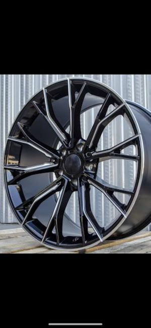 """20"""" rims tires for 750i for Sale in Hayward, CA"""