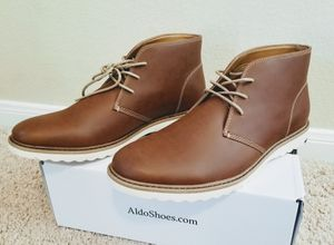 Men Shoes Size 10 - Aldo Brown Leather for Sale in Round Rock, TX