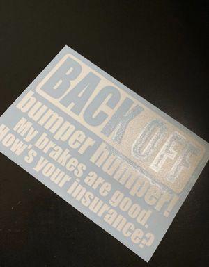 Bumper sticker for Sale in Gibsonton, FL