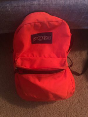 Hot Red Jansport Backpack for Sale in Aurora, CO