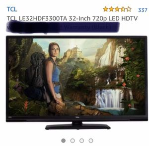 TV LED HDTV TCL 32-Inch 720p for Sale in Miami Beach, FL