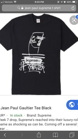 Brand new jean Paul supreme t-shirt for Sale in Oxon Hill, MD