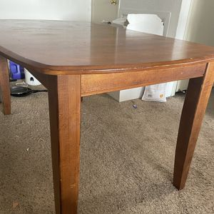 Wooden Dining Table for Sale in Wichita, KS