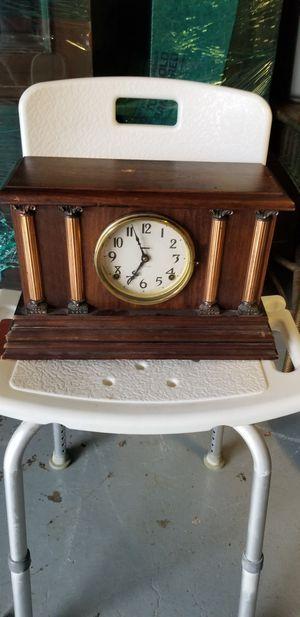 Antique Elias Ingraham Wooden Mantle/Shelf Clock for Sale in Portland, OR