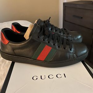 Black Gucci Ace Sneakers for Sale in Upland, CA