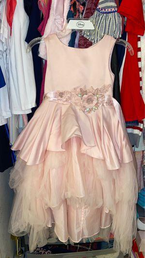 Party dress. Pink dress flower girl dress for Sale in Fontana, CA