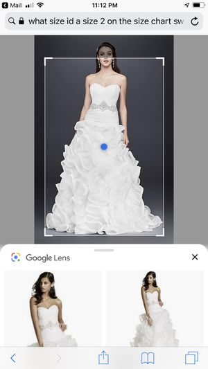 Wedding dress size 8 not altered 200 needs cleaning will throw in skirt andveil that cost 250 by itself for Sale in St. Peters, MO
