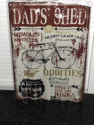 Dads Shed Sign for Sale in Humble, TX