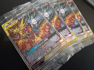 Pokemon Cards: Hidden Fates Glass Tag Team Trio for Sale in Colton, CA