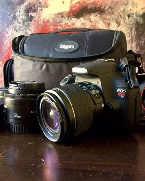 Canon rebel T5 with LENSES for Sale in North Hollywood, CA