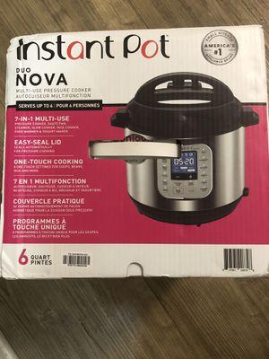 Instant pot Duo Nova 6qt for Sale in Los Angeles, CA