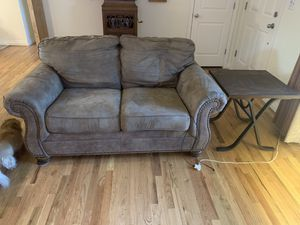 Free Loveseat and End Table for Sale in Vancouver, WA