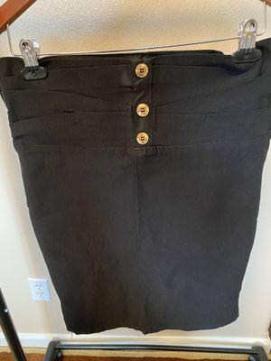Black button down skirt for Sale in Gresham, OR