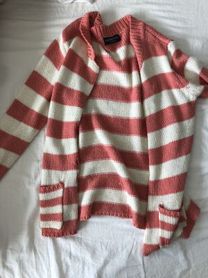 Pink Striped Sweater Size S for Sale in New York, NY