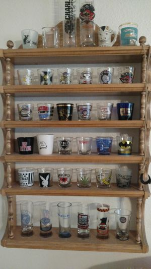 Shot glass collection for Sale in Rossmoor, CA