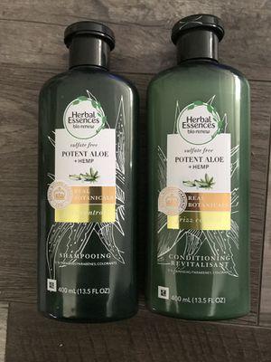 Herbal essences bio renew frizz control shampoo and conditioner set for Sale in San Bernardino, CA