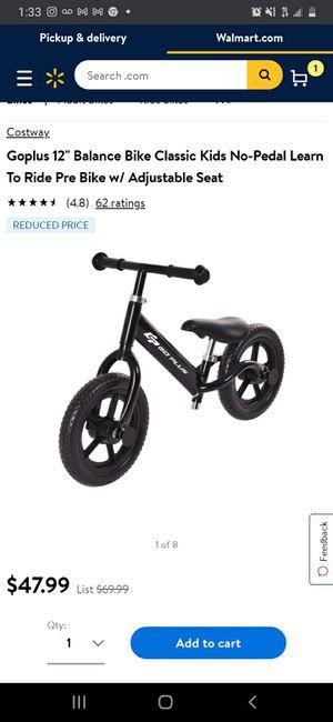 New Kids Balance Bike for Sale in Long Beach, CA