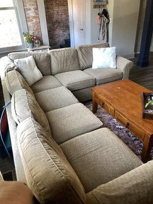 Tan Sectional Couch for Sale in Columbus, OH