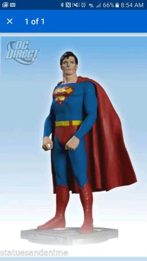 Christopher reeve collectable. Never been open. Seen prices up $350 for Sale in Stamford, CT