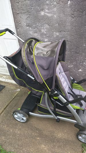 Fisher-Price active gear double stroller for Sale in Ridley Park, PA