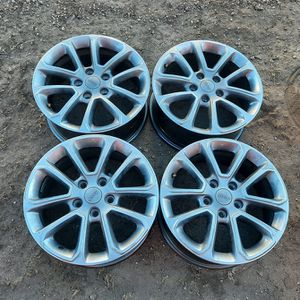 """18"""" Jeep Grand Cherokee wheels rims 5-lug 5x5 set 5x127 OEM stocks factory originals no tires for Sale in Parker, CO"""